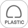 """Plastic 2"""" D-Ring"""