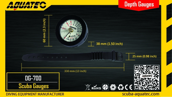 Scuba Depth Gauge
