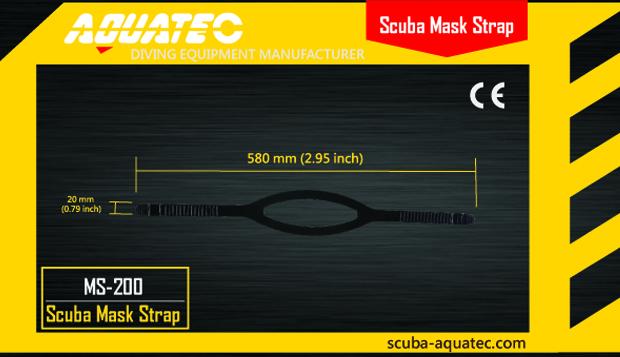 Scuba Mask Strap