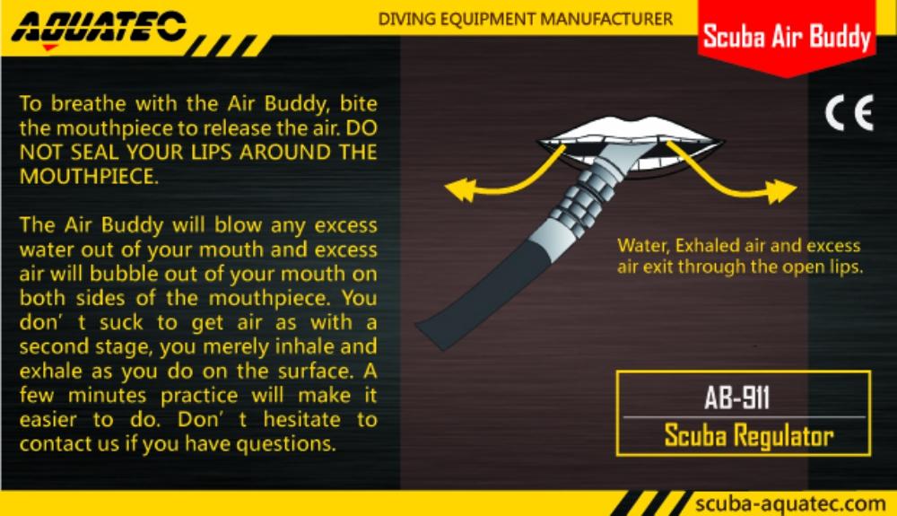 Scuba Air Buddy High Quality Scuba Air Buddy