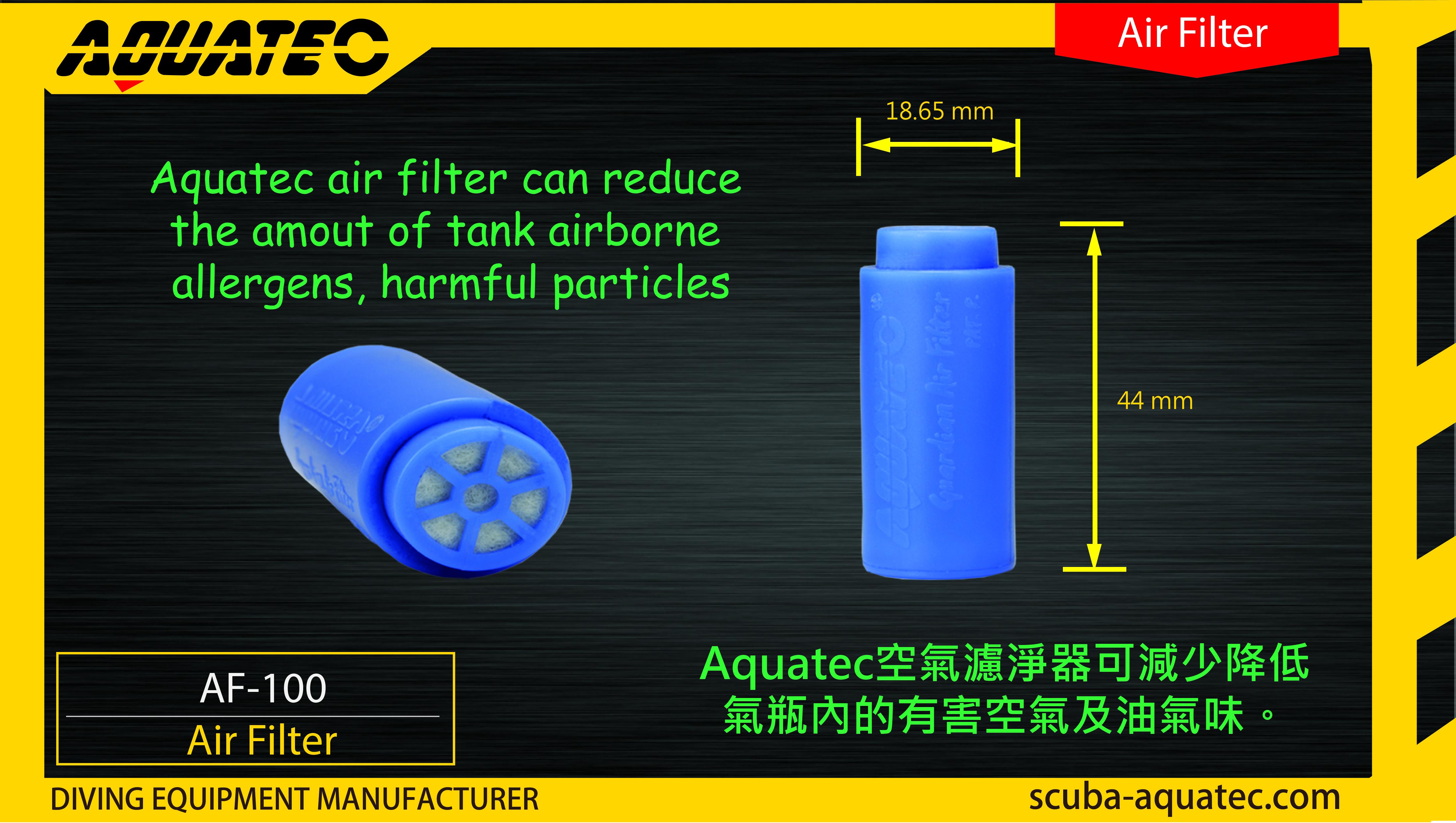 Scuba Guardian Air Filter