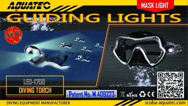 diving mask light