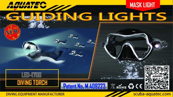 diving mask light