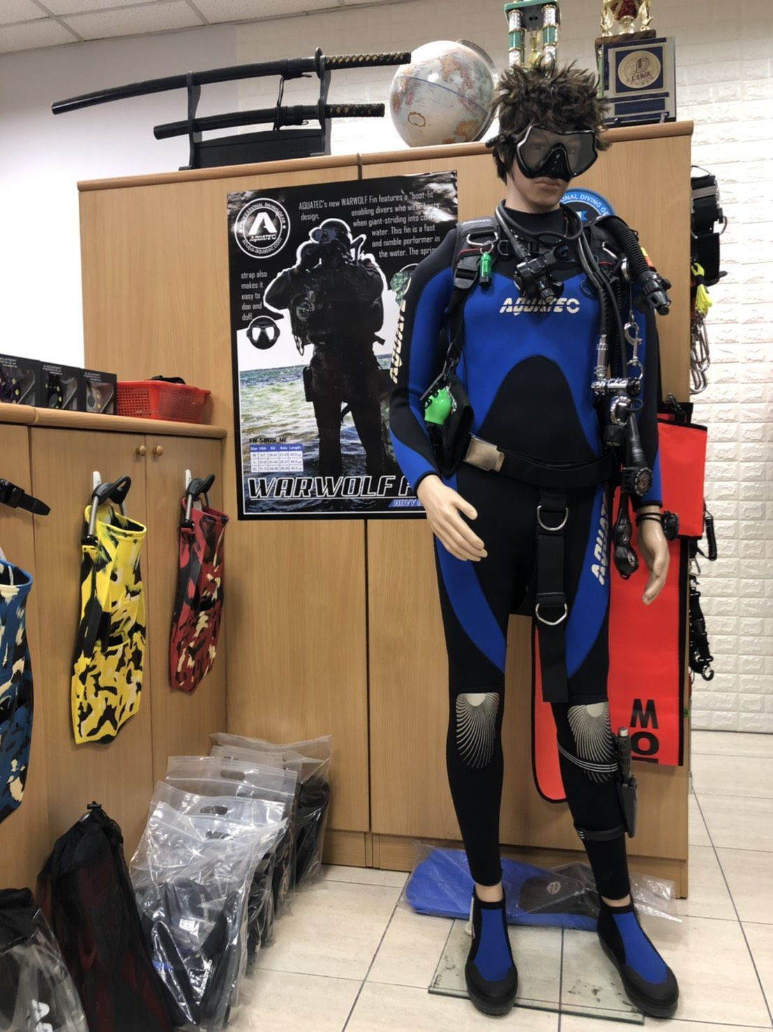 Scuba Aquatec Showroom